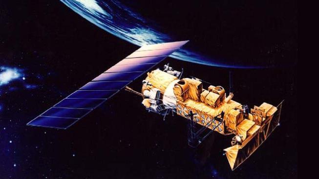 Družice ve vesmíru (ilustrační foto)