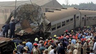 Tragická srážka autobusu s vlakem