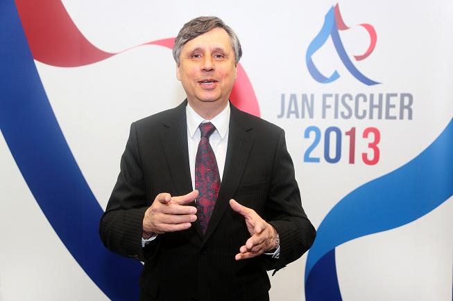 Vy nejste prezident, slyšel Jan Fischer z publika. A pak se rozrušil