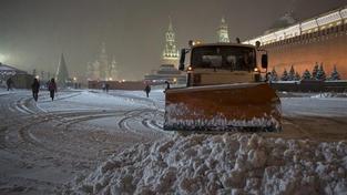 Rudé náměstí v Moskvě.