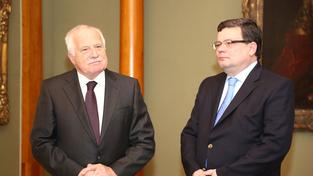Václav Klaus a Alexandr Vondra.