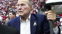Exprezident USA Bush starší byl hospitalizován