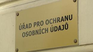 Úřad pro ochranu osobních údajů.