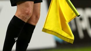 Fotbalový rozhodčí (ilustrační foto)