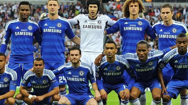 Fotbalový team Chelsea