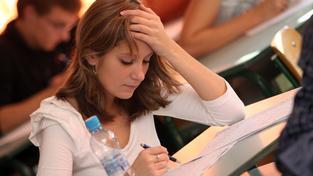 Studentka (ilustrační fotografie)