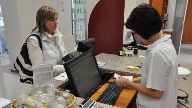 Výdej na předpis v lékárně (ilustrační foto).
