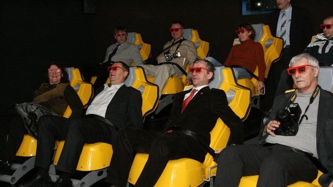 4D kino (ilustrační obrázek).