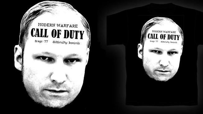 Tričko s Breivikem.