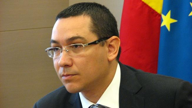 Rumunský premiér Victor Ponta.