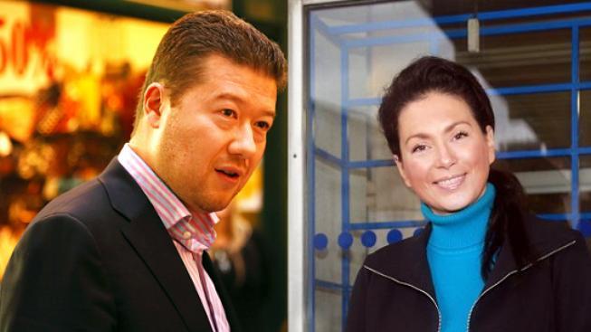 Tomio Okamura a Jana Bobošíková