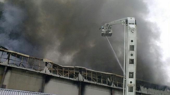 Požár objektu (ilustrační foto)