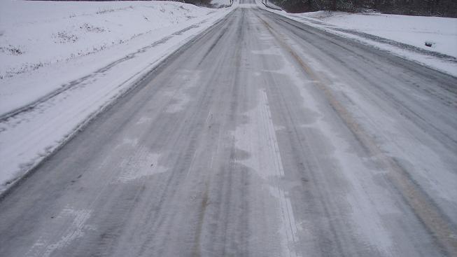 Ledovka na cestách