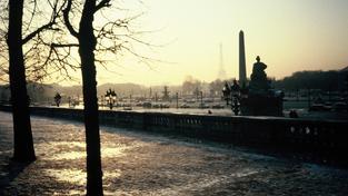 Zimní Paříž (ilustrační fotografie)