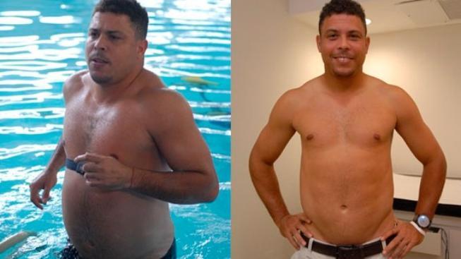 Ronaldo před a po