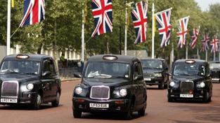 Taxi, Londýn