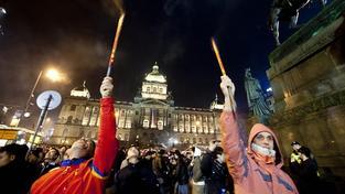 Silvestrovské oslavy, Václavské náměstí