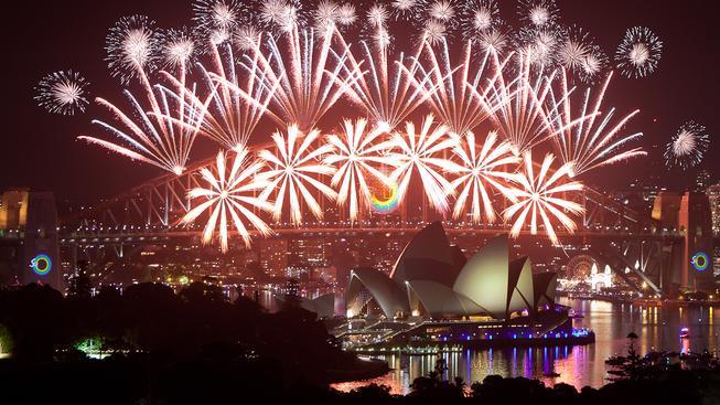 Australské Sydney na Nový rok