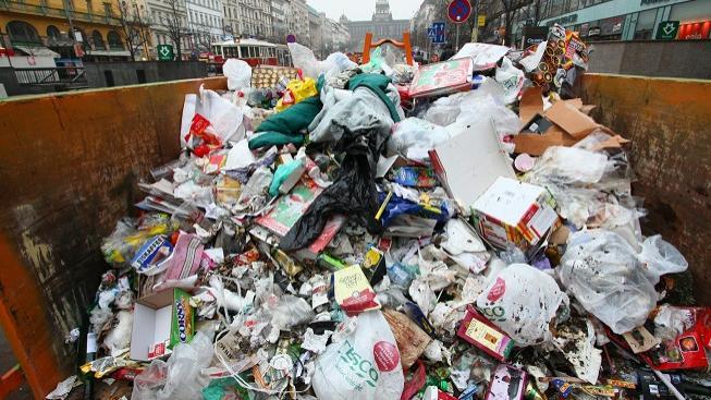 Odpad, Praha