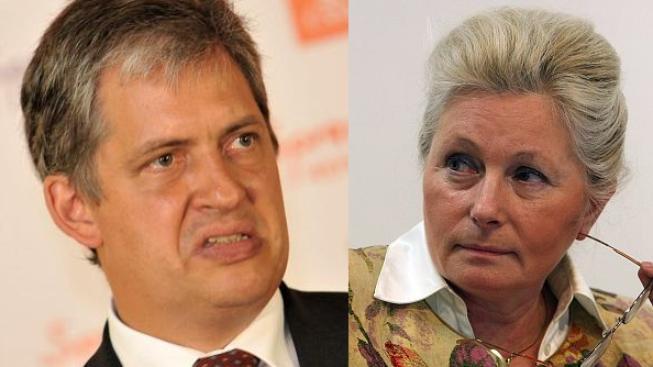Jiří Dienstbier a Zuzana Roithová
