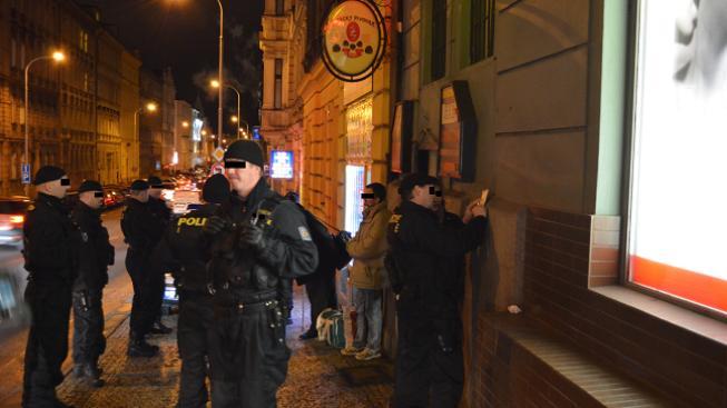 Policie u případu
