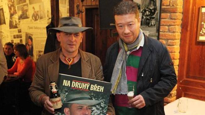 Jaroslav Novák a Tomio Okamura