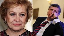 Čáslavská ostře proti Fischerovi: Nemá právo být prezidentem