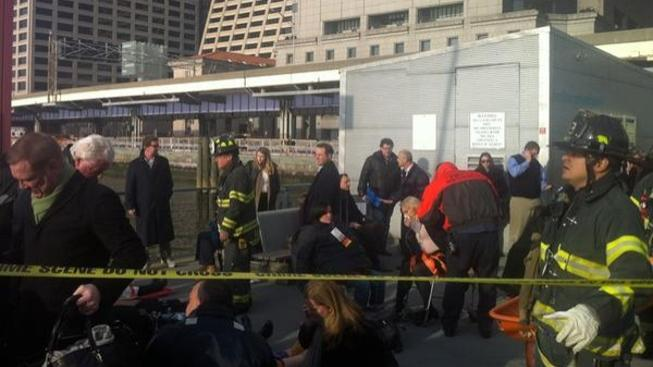 Nehoda trajektu na Manhattanu