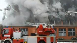 Požár ve Svitu