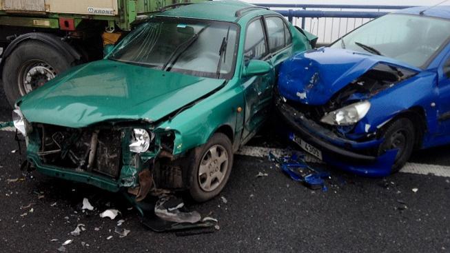 Hromadná nehoda (ilustrační foto)