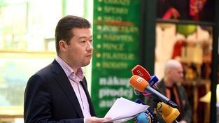 Tomio Okamura řeční