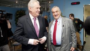 Miloš Zeman, Karel Schwarzenberg