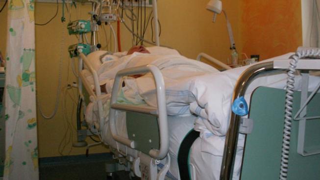 Pacient na JIP (ilustrační foto)
