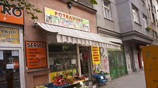 Prodejna potravin (ilustrační foto)