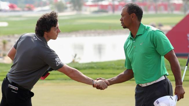 Rory McIlroy s Tigerem Woodsem