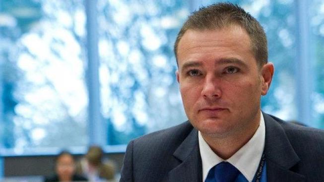 Maďarský europoslanec Zoltán Bagó.