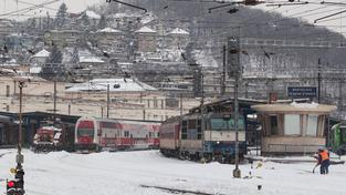 Kolaps na železnici