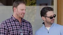Fešáci z Beverly Hills na obědě: Jak se změnili Brandon a Steve
