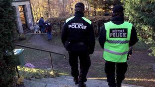 Městská policie, strážníci (ilustrační foto).