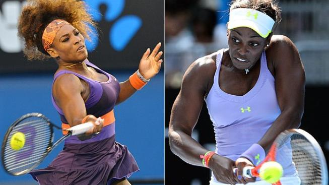 Serena Williams, Sloane Stephens