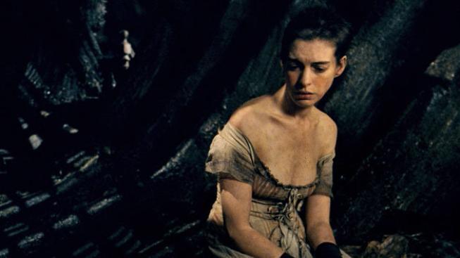 Anne Hathaway ve filmu Bídníci