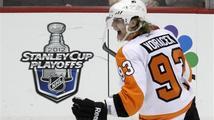 Voráček vstřelil vítězný gól Flyers, veterán Jágr skončil v péči lékařů