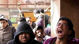 Fotbalové násilí v Egyptě