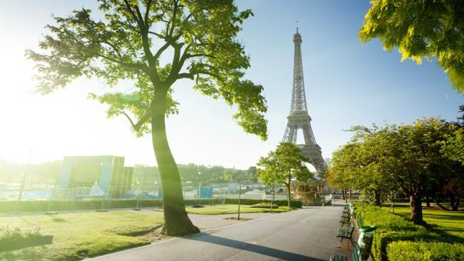 Pařížský park (ilustrační foto)