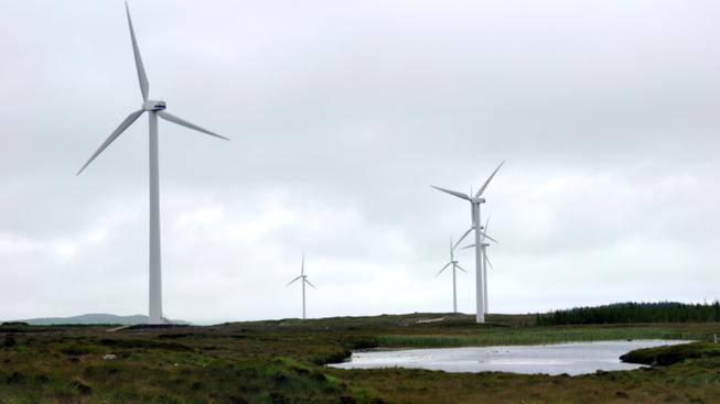 Větrné elektrárny (ilustrační foto)
