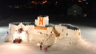 Sněhový hrad