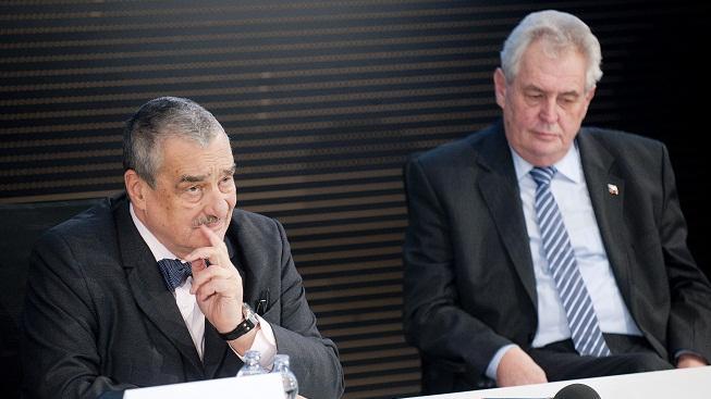 Schwarzenberg a Zeman