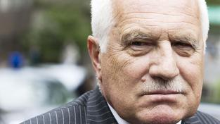 Václav Klaus nemá radost.
