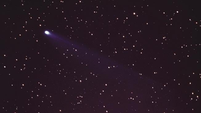 Meteorit (ilustrační foto)
