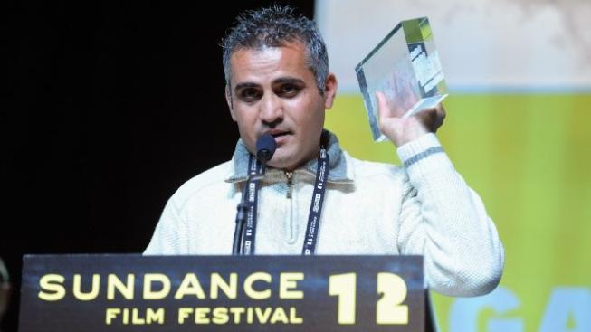 Palestinský dokumentarista Emad Burnat.